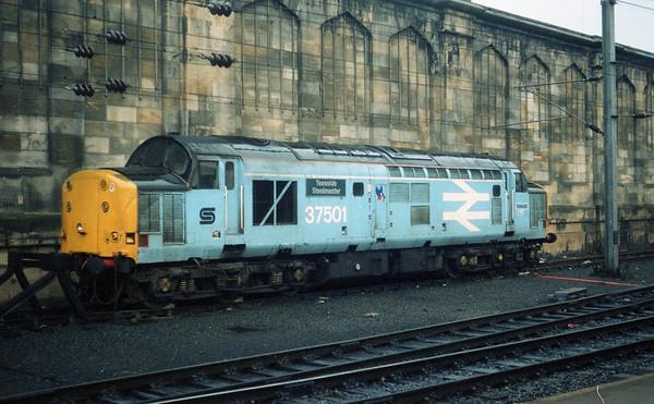 37501 sits awaiting its next turn at Carlisle.