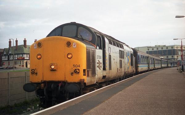37504 at Blackpool North on 2F59 1908 Blackpool North - Liverpool Lime St. 31.05.93