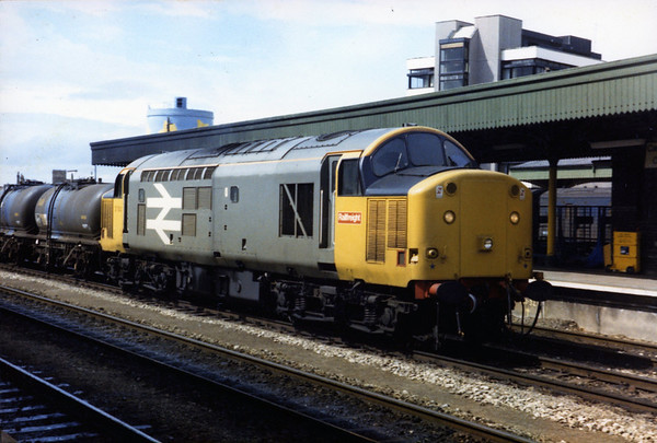 37502 passes through Cardiff Central.