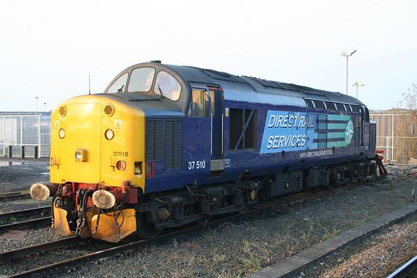 37510 in York Parcels Sidings.