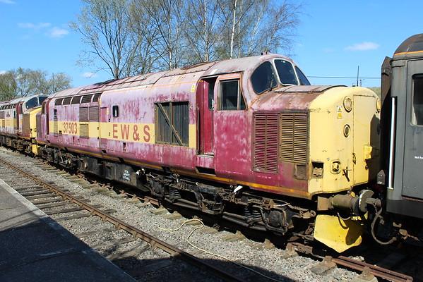 37503 at Barrow Hill. 18.04.15