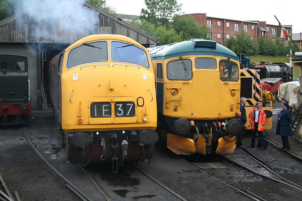 D832 and 26024 await they're next duties at Bury. 04.07.07