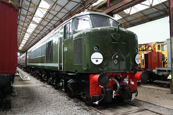44004 in the museum at Swanwick. 22.05.10