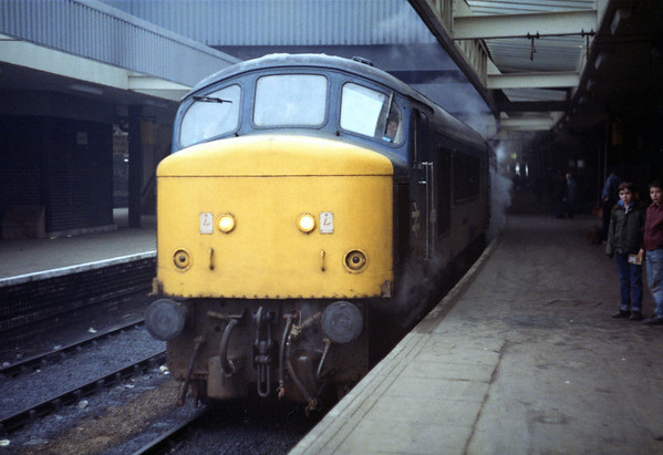 45006 steaming at Leeds on a Liverpool Lime Street - Scarborough service.