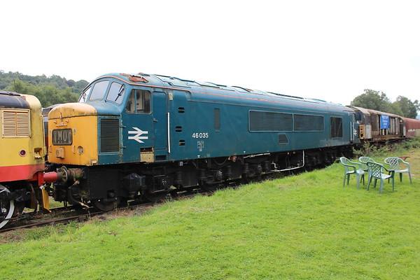 46035 at Rowsley. 03.09.17