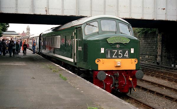 "46035 at Scarborough on Past Time Railtours ""The Napier & Sulzer Pioneer"" 05.07.97"