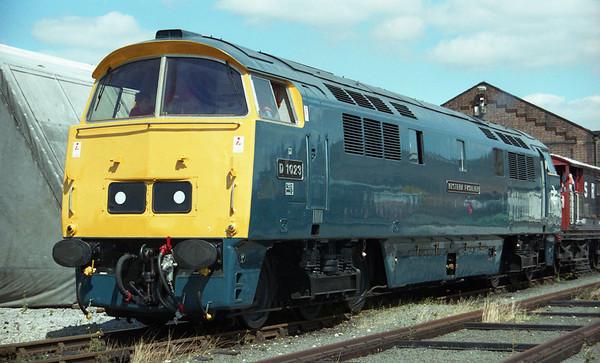 D1023 at York NRM.