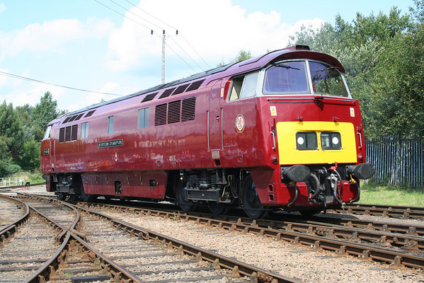 D1015 in Barrow Hill Yard.