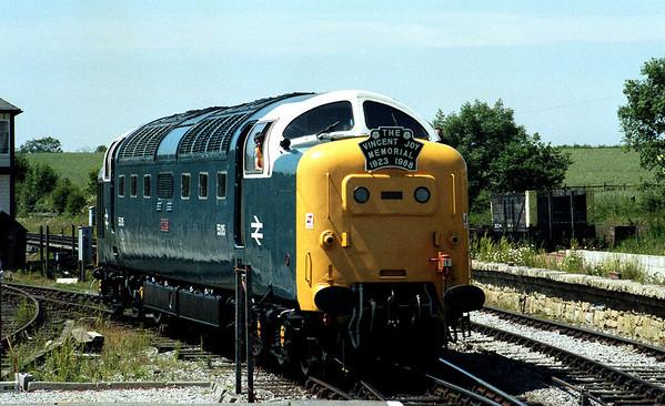 55015 at Swanwick.