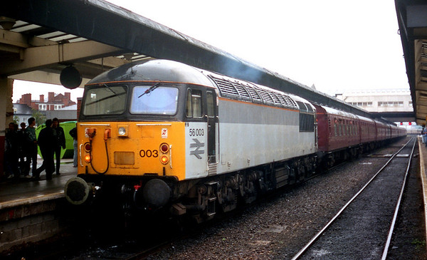 56003 at Derby on Pathfinder Tours 'The Leicester Looper'. 06.09.92