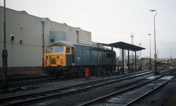 56004 on the fueller at Toton.