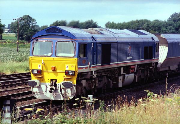 59202 passing Milford Jct.