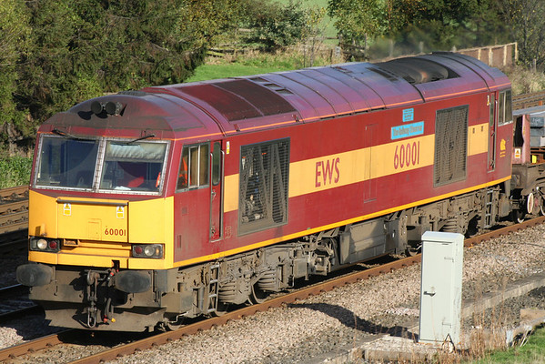 A closer view of 60001 on 6V36. 01.11.05