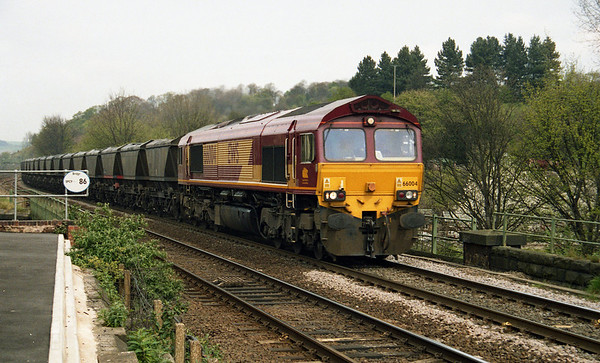 66004 passing Chesterfield on MGR's.