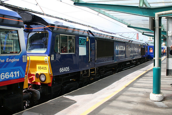 66405 on the DRS Charter to Newcastle. 07.07.07