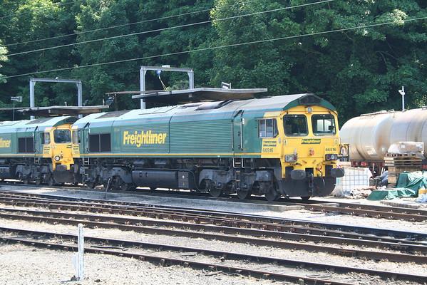 66516 in Ipswich Yard. 06.06.13
