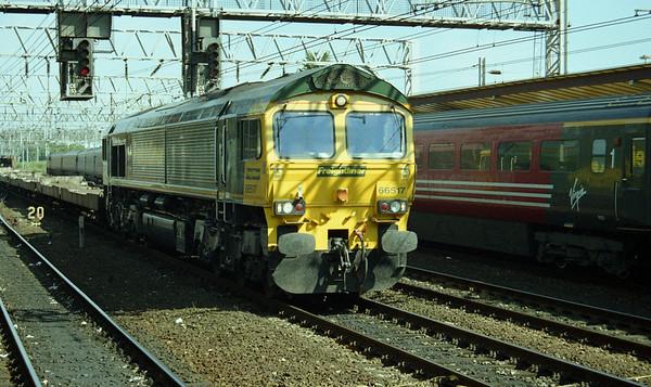 66517 passing Crewe.