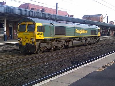 66613 passes through Doncaster. 30.07.14