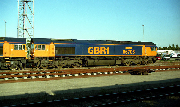 66706 in Peterborough Yard.