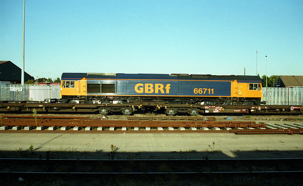66711 in Peterborough Yard.
