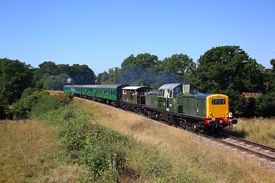 D8568 on the 2T10 1125 Eridge to Tunbridge Wells West at Lealands on the 3rd August 2018 1