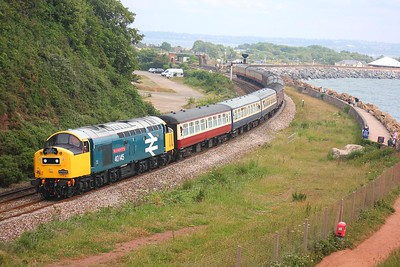 40145_Langstone_Rock_1Z37 Portsmouth to Penzance on the 27th June 2009