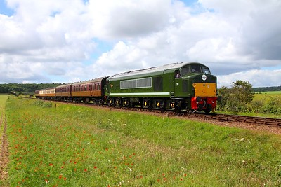 D8 departing Weybourne with the 1055 Holt to Sheringham on the 9th June 2017
