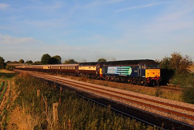 47501+47832 on 5Z55 Peterborough to Crewe CS at Thurmaston on the 6th October 2013