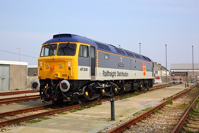 47306 at Long Rock Open Day on the 13th April 2019