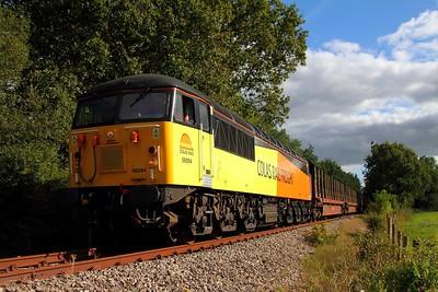 56094 Heathfield branch 6Z52 Gloucester to teigngrace near destination on 20th September 2012