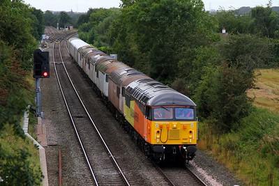 56087+56038+56031+56106+56069+56074 6X40 Crewe to Kingsbury at Kingsbury on 14th September 2012