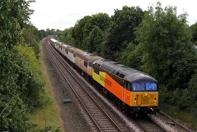 56087+56038+56031+56106+56069+56074 6X40 Crewe to Kingsbury at Kingsbury on 14th September 2012 1