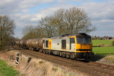60015 6E41 Westerleigh to Lindsey at Chellaston on the 20th March 2011