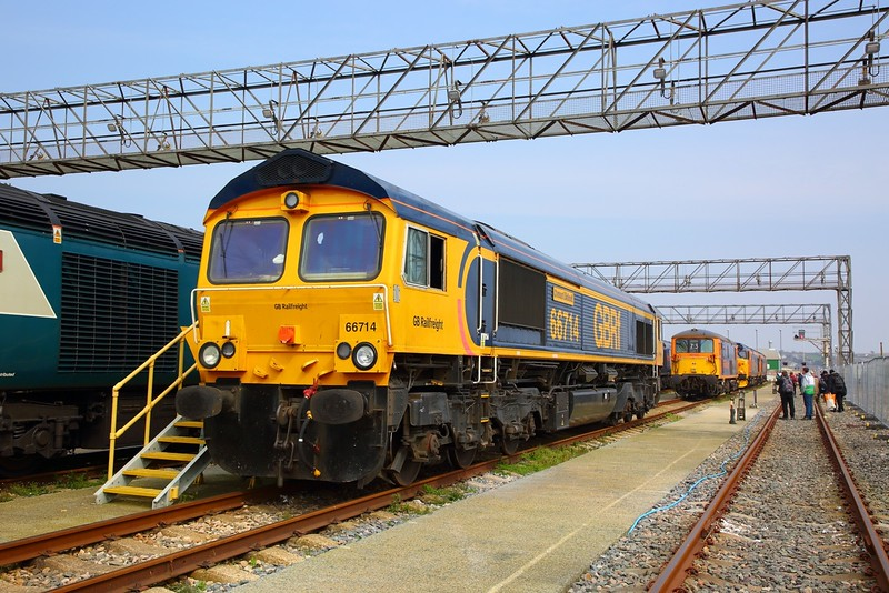 66714+73107+50049+50007 at Long Rock Open Day on the 13th April 2019