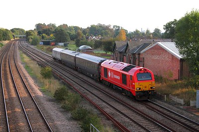 67018 tnt 82146 5Z06 Cricklewood to Toton at Normanton on Soar on the 15th October 2013