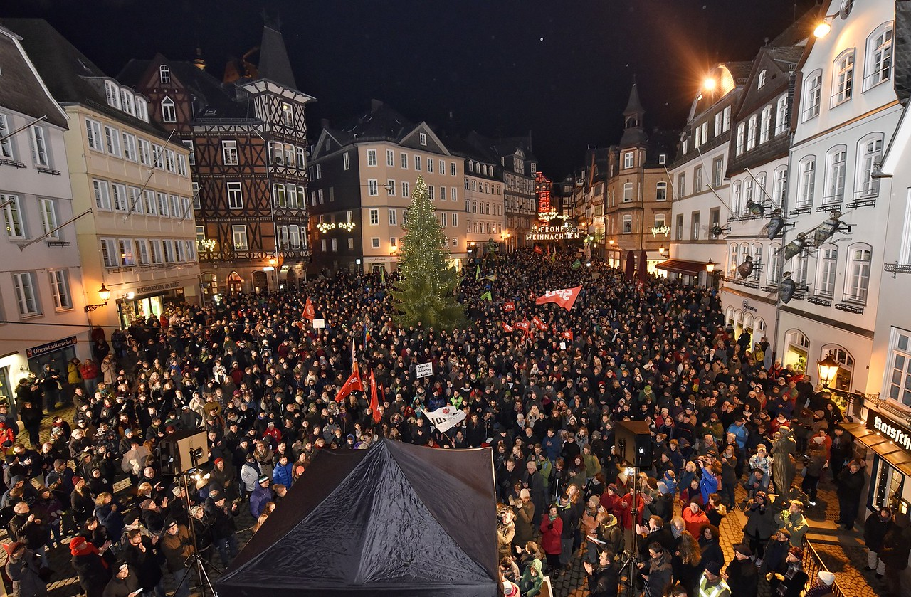 ANTIGIDA-Demonstration, 5. Januar 2015, Marburg