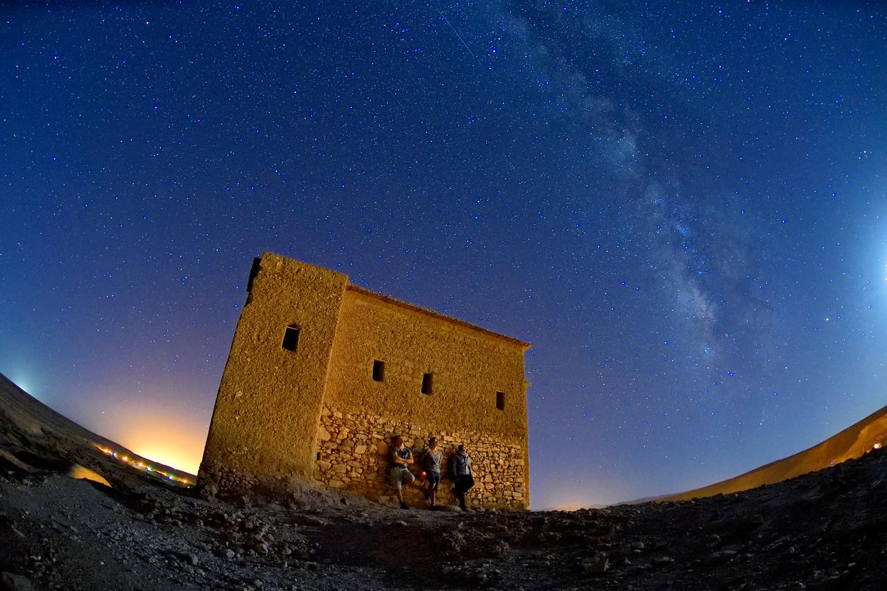 Milchstraße über Aït-Ben-Haddou I Marokko