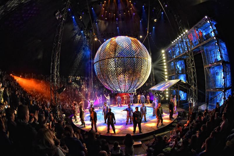 Premiere Zirkus Flic Flac in Marburg