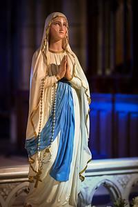 Vierge Marie Saint Blandine - Lyon
