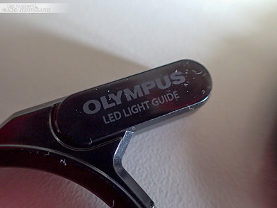 The front of the LED Light Guide