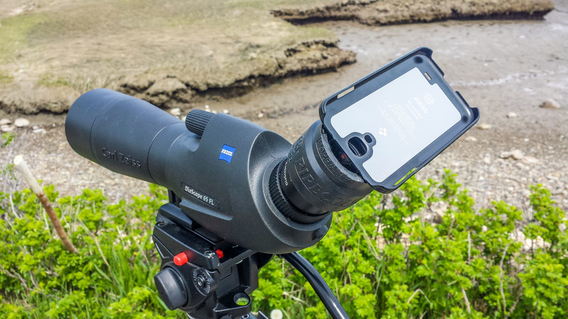 Digiscoping Mobile rig.