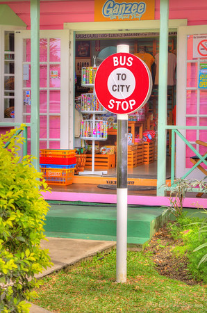 The Bus Stops Here, Holetown, Barbados