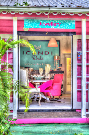 Looking Inside the Store, Holetown, Barbados
