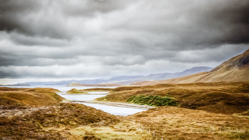 Threatening Skies, Loch Eriboll, Scotland
