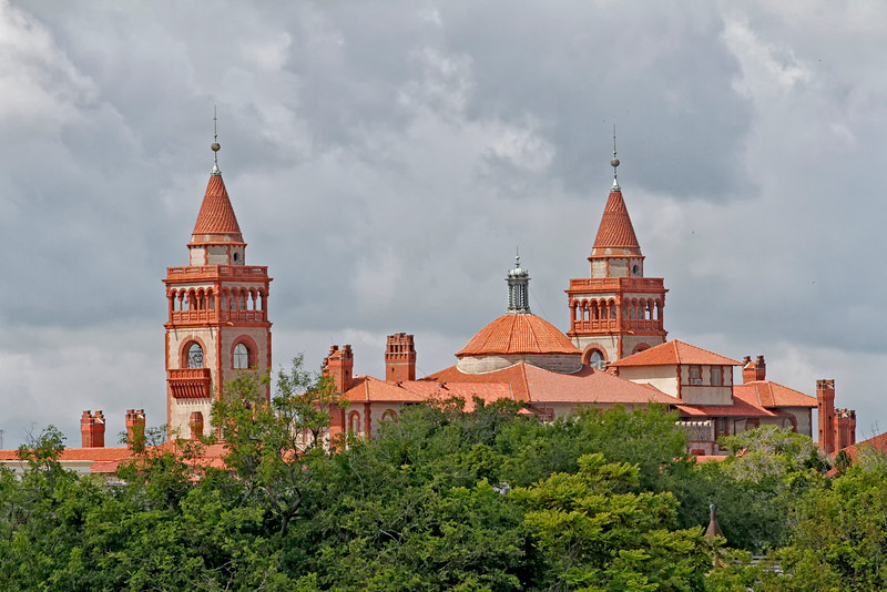 Flagler college, St. Augustine, FL taken by photographer Jerry Dalrymple
