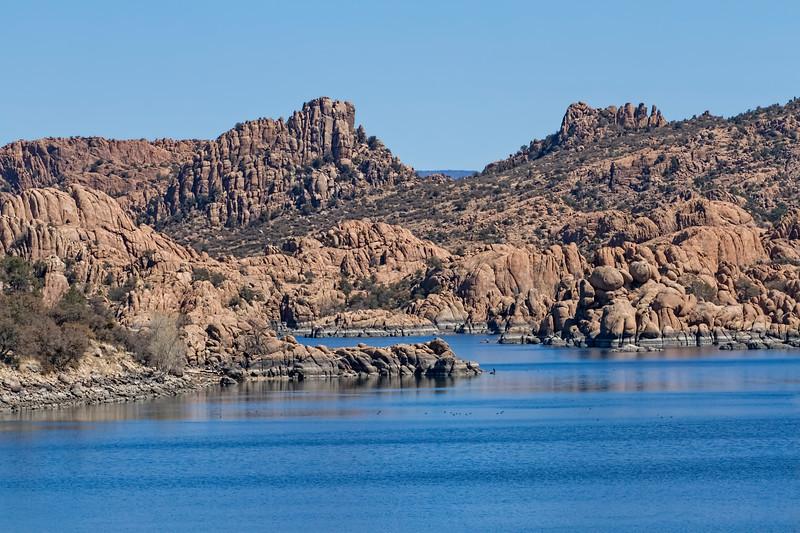 Lake Watson near Prescott, AZ