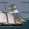 Schooner Sails from Vineyard Haven, Martha's Vineyard