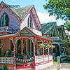 Pink Gingerbread House, Oak Bluffs Campground, Martha's Vineyard