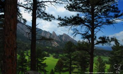 Flatirons 2, Boulder, Colorado