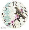 Mockingbird clock face